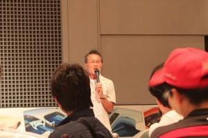 NSXデザイナー中野正人さんの講演会