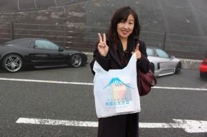 静岡県側が表富士だそうですよ
