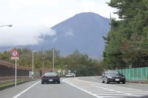 富士山キレイに見えるいいお天気