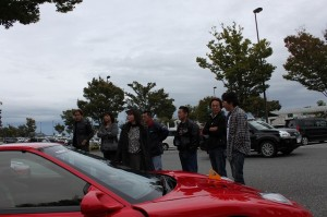 富士川にて再度集合