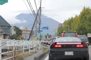 富士山のふもとの公園までいきます