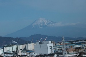 富士山もキレイです