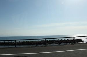 海沿いは景色がよくてタイプT最高!