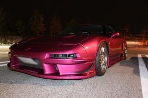 さらにピンクになりました けんちゃん号