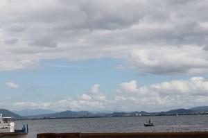 琵琶湖大橋をわたってささっと帰るつもりが