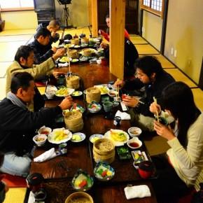 「大野路」で昼食
