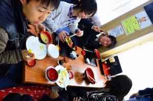 ふゆきさんの天ぷら定食がなかなか来ない