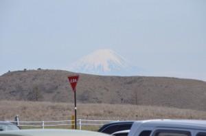 富士山見えてます