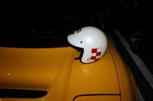 ナカムラさんから返却されたヘルメット