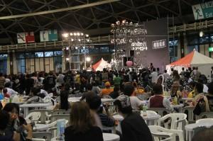 横浜銀蠅のライブがはじまりました
