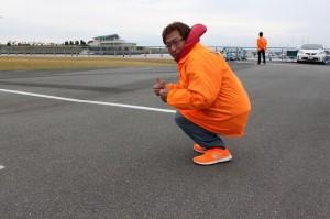 オレンジ色でコーディネート!