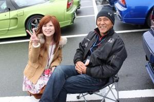 るいちゃんとイシモトさんは仲良しなんです。