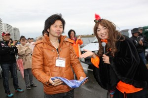 鳥取からお越しのJUNさん