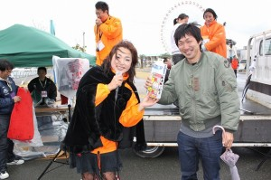 栃木からお越しの ナガノさん