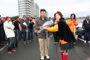 静岡からお越しのナカガワさん