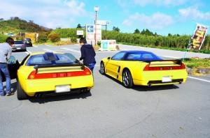 おー!黄色2台!