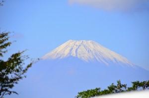 富士山は忘れません。キレイすぎ。