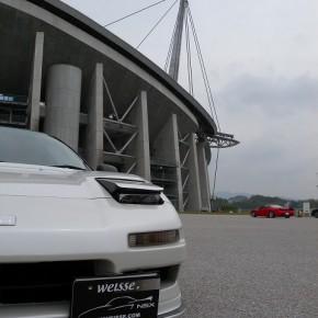 このスタジアムは黒川紀章さんの設計なので