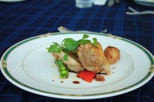 鳥もも肉のソテー バルサミコソース