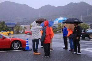 傘が壊れた人、服を買った人が続出な日でした