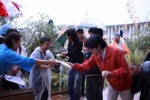 NSXミーティングに初参加でこの暴風雨 ヤマザキさん
