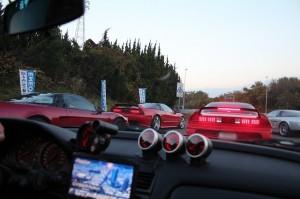 ここから渋滞が3時間以上!