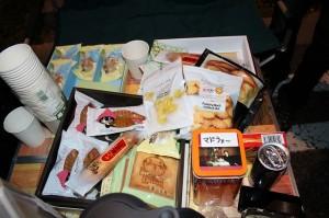 今日は差し入れが浜松祭り!