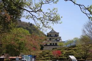 藤橋城につきました