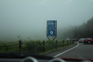 名前の通りのすごい霧でございました