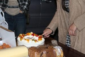 このケーキめっちゃおいしかったのです