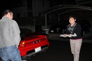 ryoさんから帰り際にいいものもらっちゃいました
