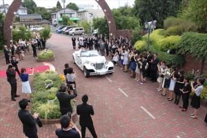 たいきの結婚式の仕込みはなかなかにすごく