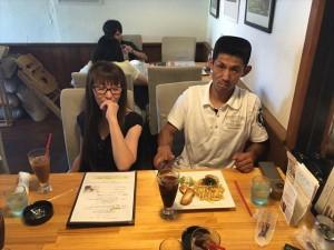 みーんなおなかいっぱいなのに帰りのカフェでパスタ食べる人ww