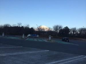 朝イチの富士山。。。じゃなくてインプ