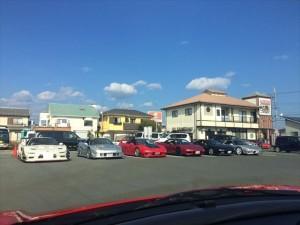 おお、いいかんじの駐車場ね